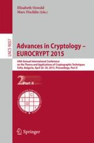 Advances in Cryptology - EUROCRYPT 2015