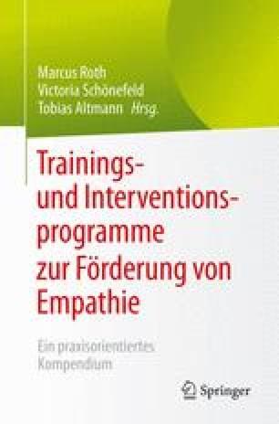 """EMO-TRAIN"""": Ein Interventionsprogramm zur Förderung von Empathie ..."""