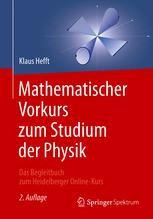 Mathematischer Vorkurs zum Studium der Physik