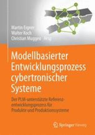 Modellbasierter Entwicklungsprozess cybertronischer Systeme