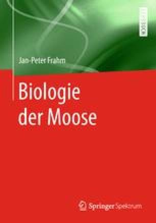 Biologie der Moose