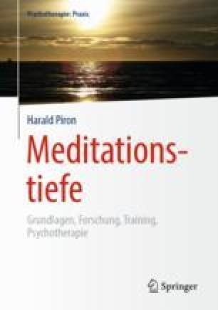 Meditationstiefe Modelle In Den Spirituellen Traditionen Springerlink