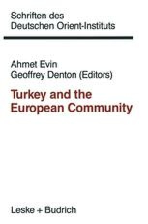 Cultural Issues in Relations between Turkey and Europe | SpringerLink