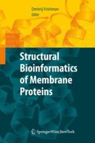 Structural Bioinformatics of Membrane Proteins