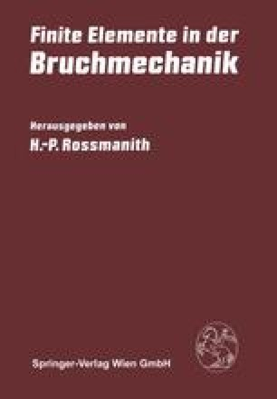 finite elemente verfahren in der bruchmechanik springerlink