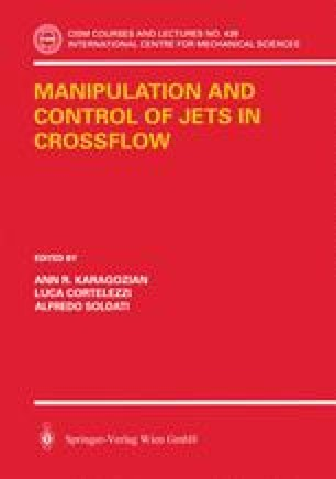 Manipulation and Control of Jets in Crossflow