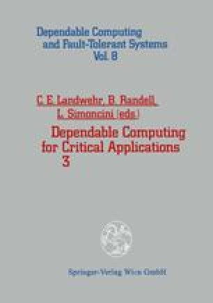 Dependable Computing for Critical Applications 3