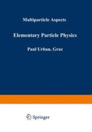 Elementary Particle Physics
