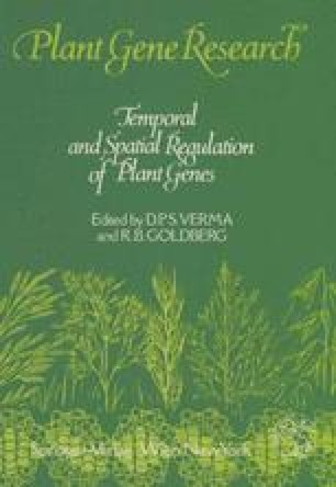 Temporal and Spatial Regulation of Plant Genes