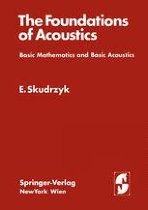 The Foundations of Acoustics