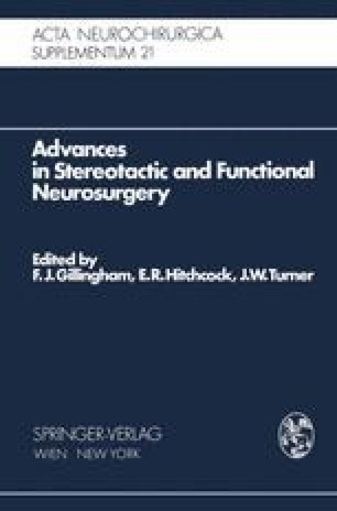 Advances in Stereotactic and Functional Neurosurgery