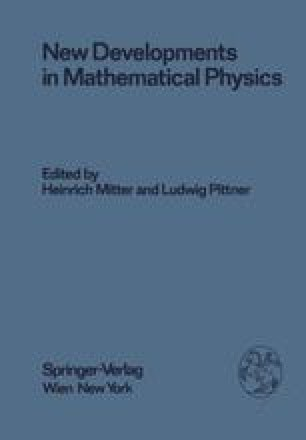 New Developments in Mathematical Physics