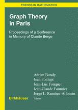 Graph Theory in Paris