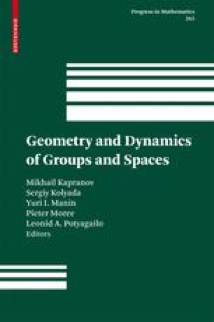 Geometry and Dynamics of Groups and Spaces