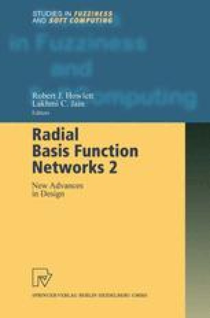 Radial Basis Function Networks 2