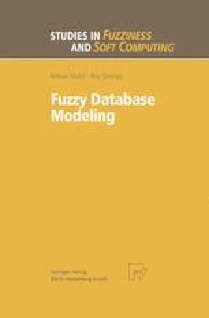 Fuzzy Database Modeling | SpringerLink