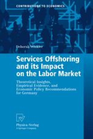 Services Offshoring and its Impact on the Labor Market