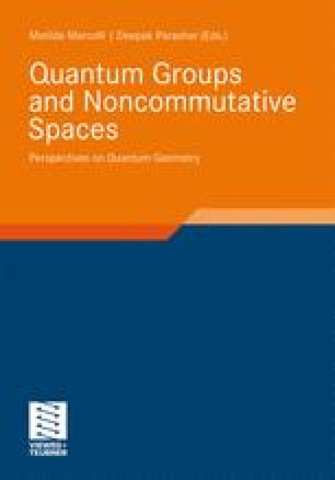 Quantum Groups and Noncommutative Spaces