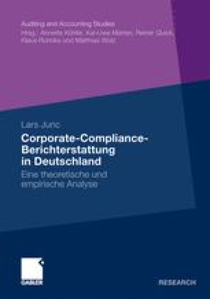 Corporate-Compliance-Berichterstattung in Deutschland
