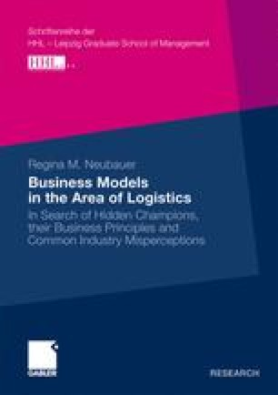 Business Models in the Area of Logistics