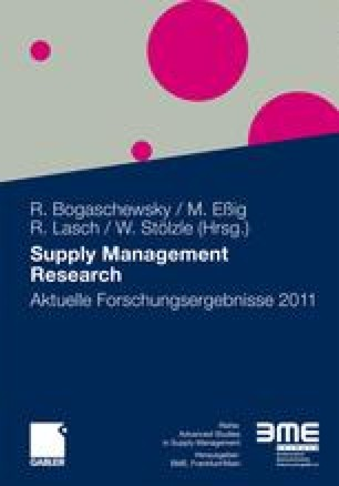 Management accounting systems in supply chains – A concept