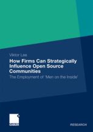 How Firms Can Strategically Influence Open Source Communities