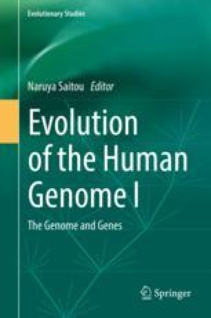 Evolution of the Human Genome I