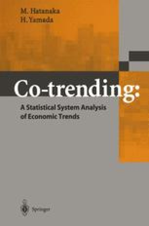 Co Trending A Statistical System Analysis Of Economic Trends Springerlink
