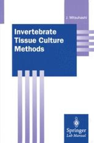 Invertebrate Tissue Culture Methods