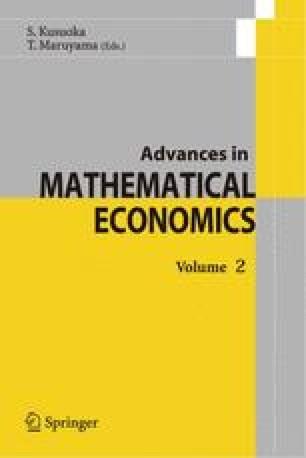 Advances in Mathematical Economics. Vol, 10