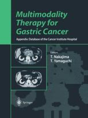Multimodality Therapy for Gastric Cancer