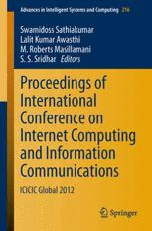 Proceedings of International Conference on Internet Computing and Information Communications
