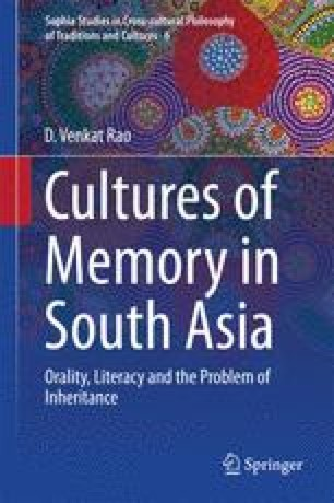 Listening to the Textlooms of Vemana: Memory, History and
