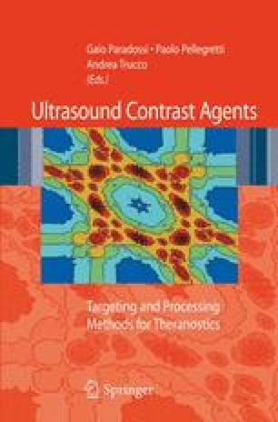 Ultrasound Contrast Agents