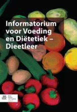 Informatorium Voeding en Diëtetiek - Dieetleer