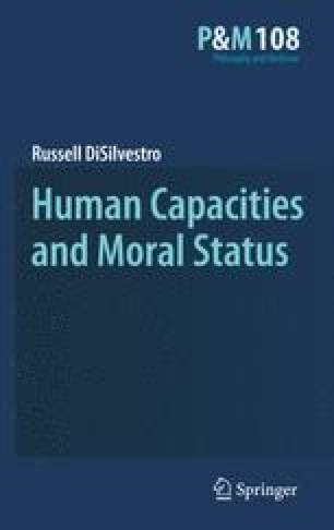 Human Capacities and Moral Status
