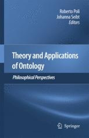 Theory and Applications of Ontology: Philosophical Perspectives