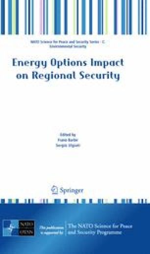 Energy Options Impact on Regional Security