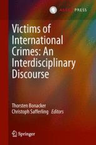 Victims of International Crimes: An Interdisciplinary Discourse