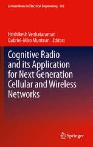 Cognitive Radio and its Application for Next Generation Cellular and Wireless Networks
