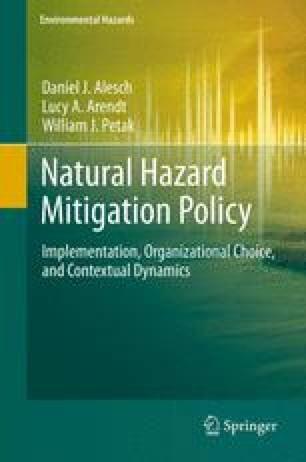 Natural Hazard Mitigation Policy