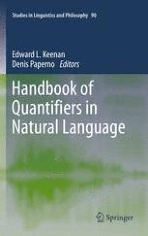 Quantification in Hungarian   SpringerLink