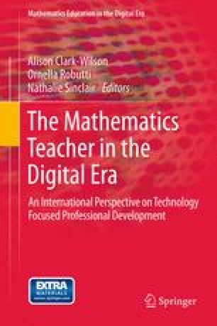 The Mathematics Teacher in the Digital Era
