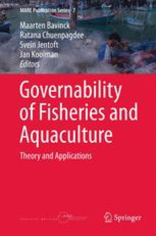 Governability of Fisheries and Aquaculture