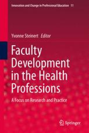 Faculty Development in the Health Professions