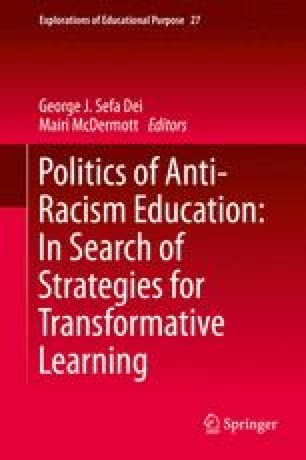 A Prism of Educational Research and Policy: Anti-Racism and