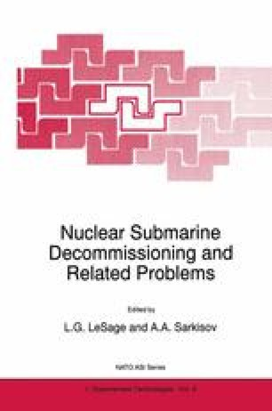 Overview of Nuclear Submarine Inactivation and Scrapping