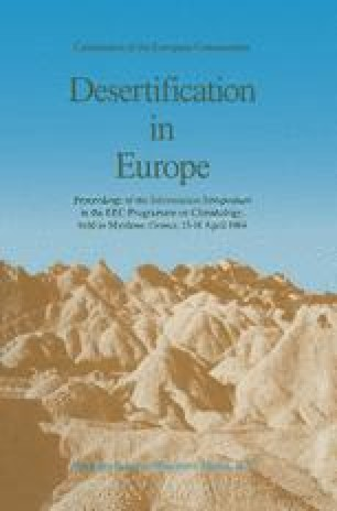 what is an example of desertification