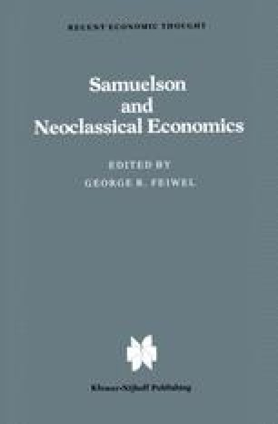 Samuelson and Neoclassical Economics