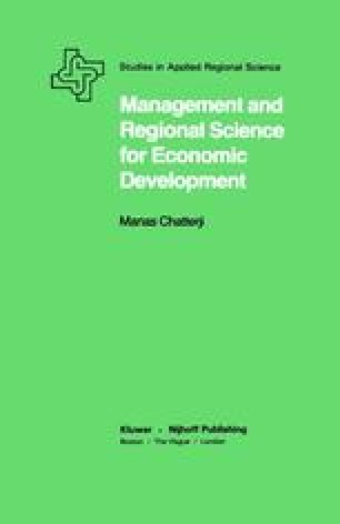 Management and Regional Science for Economic Development